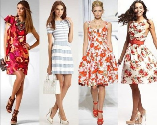 Летняя мода 2015 представляет женскому вниманию множество необычных фасонов и красочных расцветок модных сарафанов