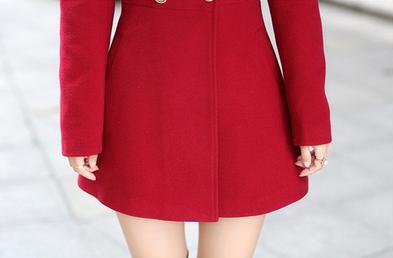 Новая зимняя осень, женское пальто  - 8