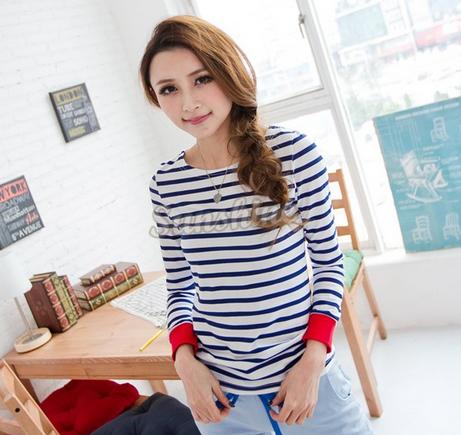 Осенняя футболка для женщин  - 3