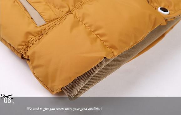 Модная мужская куртка, тёплая зима  - 4