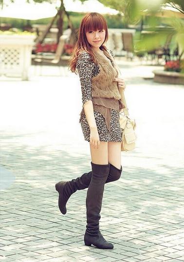 Новые модные сапоги для женщин - 2