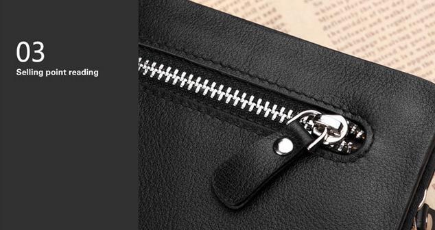 Стильный кошелёк для мужчин - 9