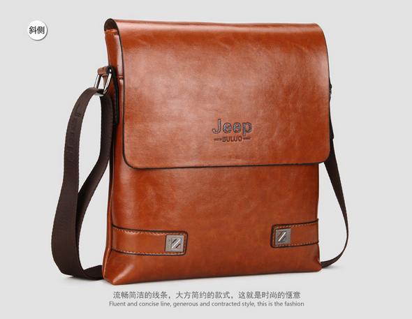 Модная брендовая сумка через плечо для мужчин  - 2