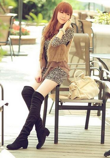 Новые модные сапоги для женщин - 3