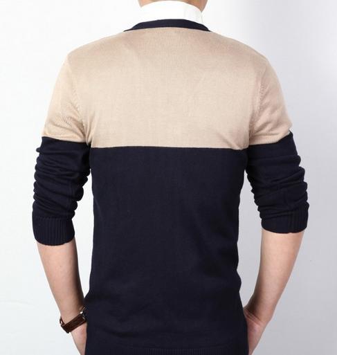 Тёплый мужской свитер для мужчин  - 4