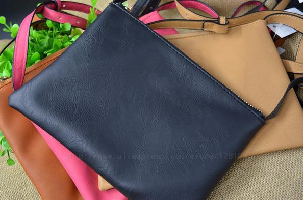 Натуральная кожа, сумка через плечо для женщин - 2