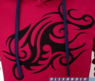 Спортивная толстовка с драконом для мужчин  - 11