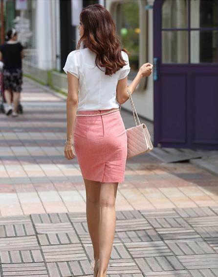 Летняя блузка с коротким руковом для женщин  - 7