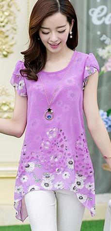 Женская блузка для леди  - 1