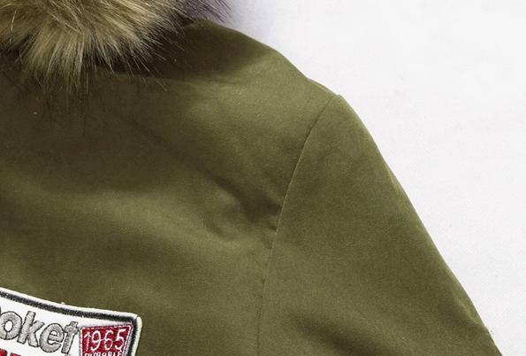 Мужские модные парки, меховая модная куртка  - 8