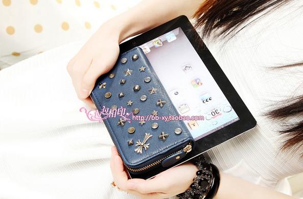Модный дизайнерский кошелёк для женщин  - 6