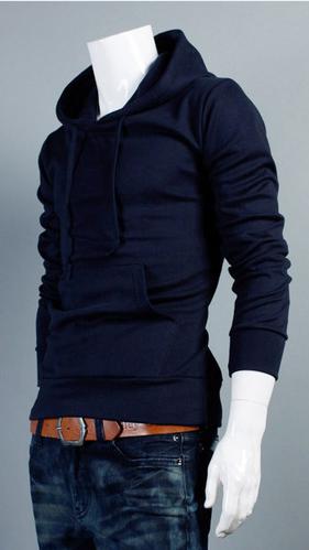 Спортивная толстовка пуловер для мужчин  - 3