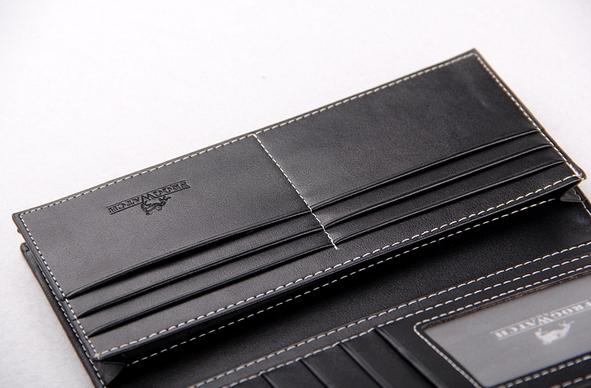 Мужской кожаный кошелёк  - 5