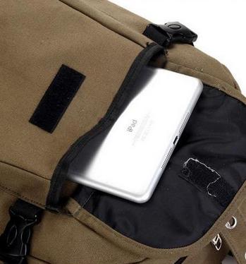 Дугообразный свободный рюкзак для мужчин - 5