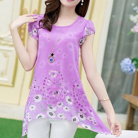 Женская блузка для леди  - 11