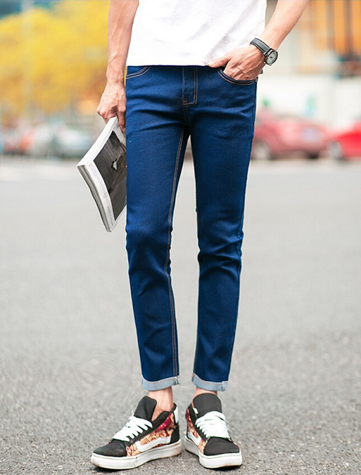 Зимние дизайнерские джинсы для мужчин - 4