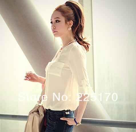 Стильная женская рубашка  - 8