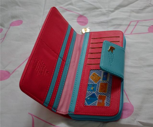 Новый качественный кошелёк для женщин   - 7