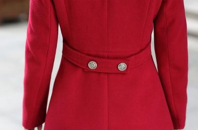Новая зимняя осень, женское пальто  - 7