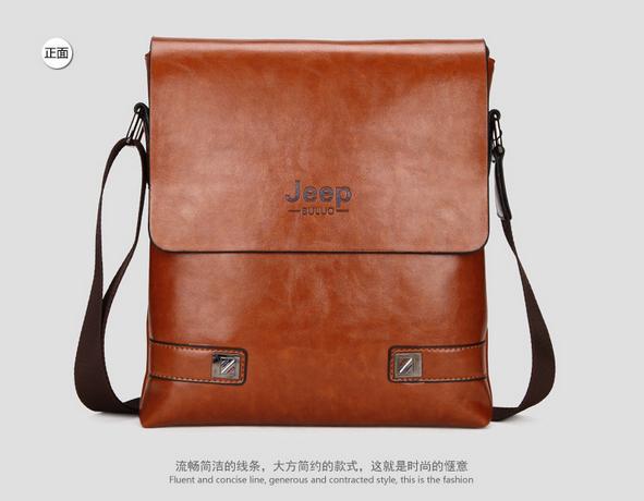 Модная брендовая сумка через плечо для мужчин  - 1