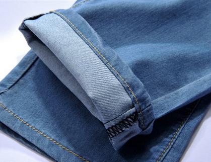 Мужские свободные джинсы  - 6