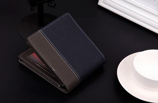 Мужской короткий кошелёк для мужчин - 2