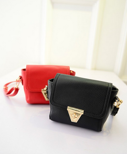 Маленькая сумка посыльного сумка через плечо для женщин - 5