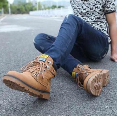 Модные мужские ботинки  - 1
