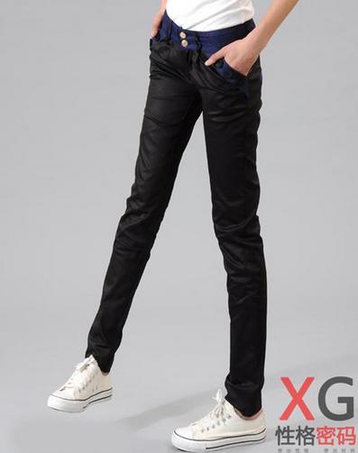 Свободные брюки карандаш для женщин - 9