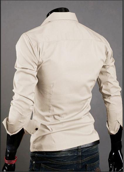 Модная дизайнерская рубашка для мужчин  - 3