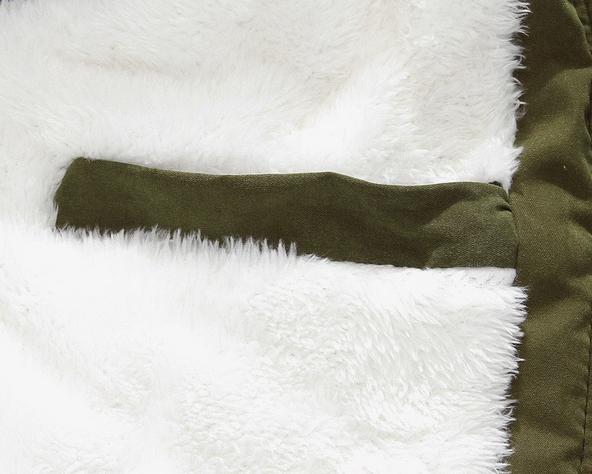 Мужские модные парки, меховая модная куртка  - 11