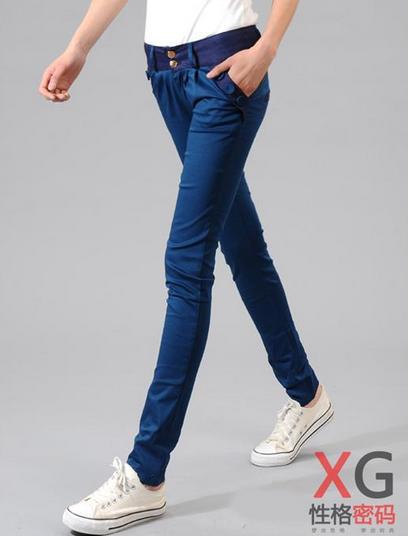 Свободные брюки карандаш для женщин - 4
