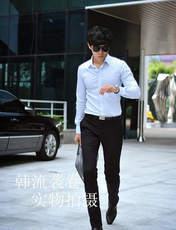Стильные бизнес брюки для мужчин - 3