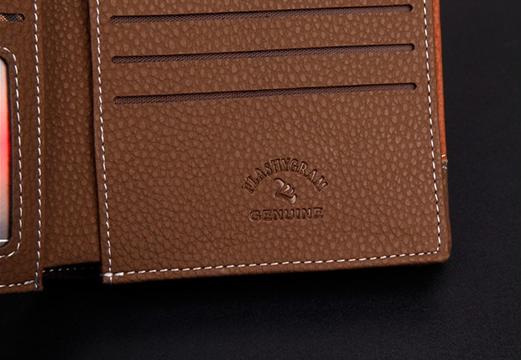 Мужской короткий кошелёк для мужчин - 6