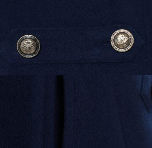 Шерстяное зимнее пальто  для женщин  - 1