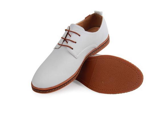 Модные кожанные туфли для мужчин  - 4