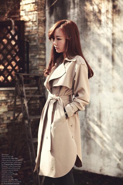Новая коллекция весенней моды, свободное пальто для женщин  - 4