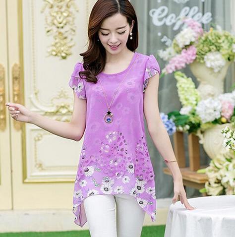 Женская блузка для леди  - 10