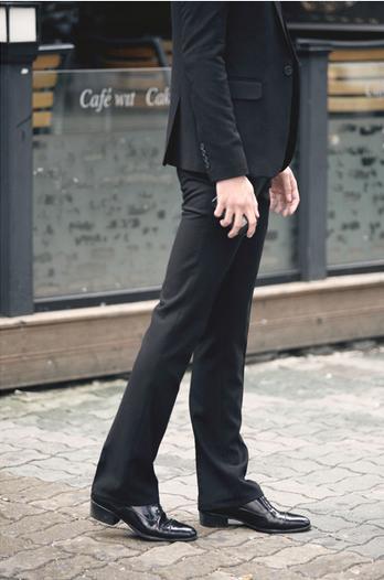 Мужские свободные тонкие брюки   - 5
