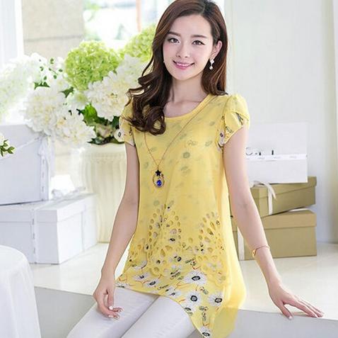 Женская блузка для леди  - 9