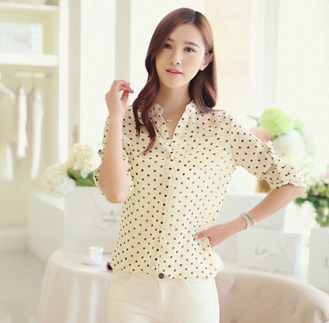 Новая летняя блузка для женщин  - 4