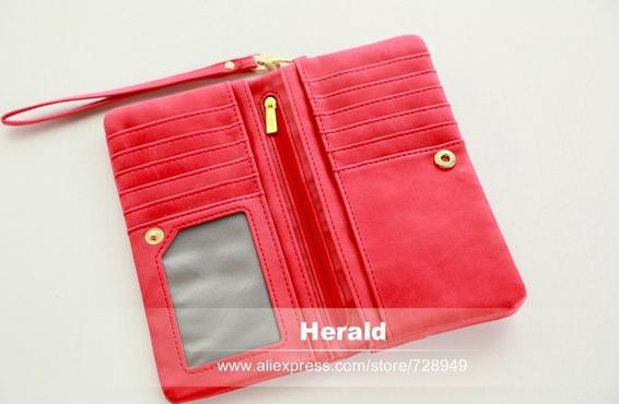 Польский кожаный кошелёк для женщин  - 5