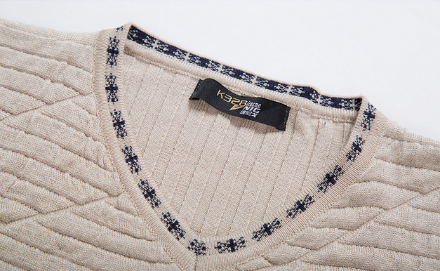 Осень и зима мода, мужской свитер  - 9