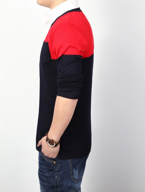Тёплый мужской свитер для мужчин  - 1