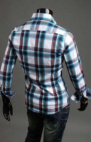 Модная мужская рубашка для мужчин - 3