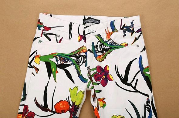 Летние стильные джинсы для мужчин  - 2