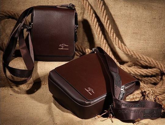 Свободная сумка кенгуру через плечо для мужчин - 4