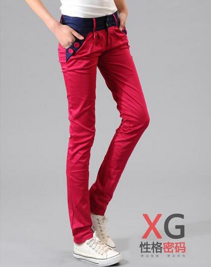 Свободные брюки карандаш для женщин - 6