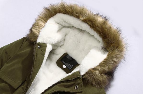 Мужские модные парки, меховая модная куртка  - 3