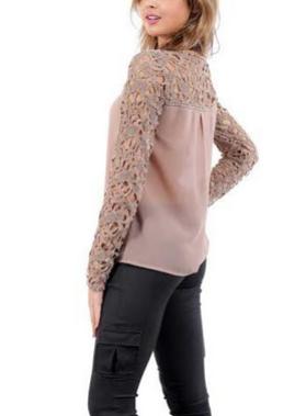 Кружевная рубашка для женщин  - 1
